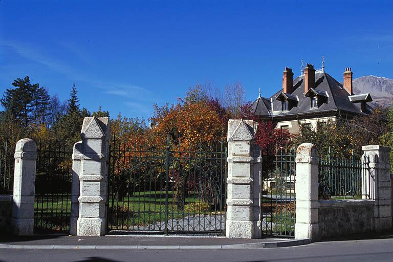 maison dite villa Rose des Alpes