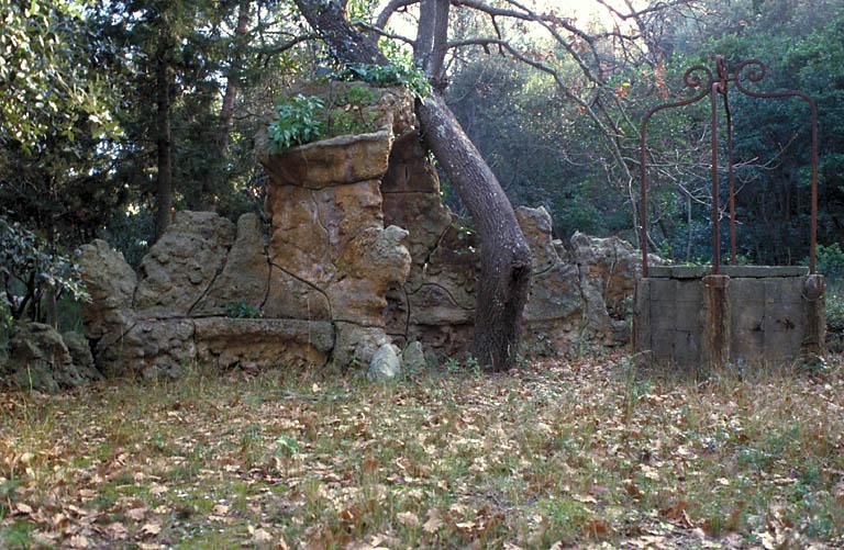 jardin d'agrément de la maison (de villégiature) dite villa des Palmiers ou du Plantier