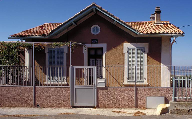 maison (villa balnéaire) dite villa Paulette