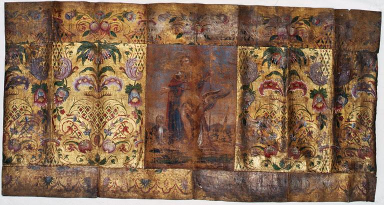 antependium : saint Roch de Montpellier