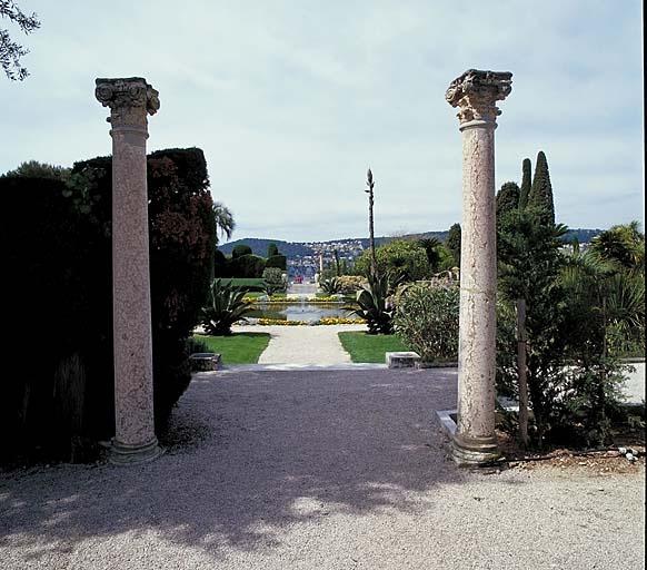 Jardin d'agrément dit Jardin à la française de la Villa Ile-de-France
