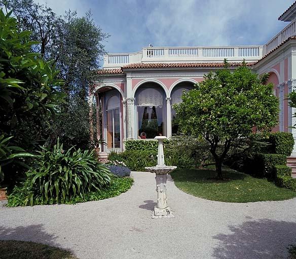 Jardin d'agrément de la Villa Ile-de-France