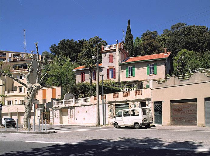 Maisons jumelles dites Villa Gymnote et Villa Gustave-Zédé, du lotissement Martin-Zédé