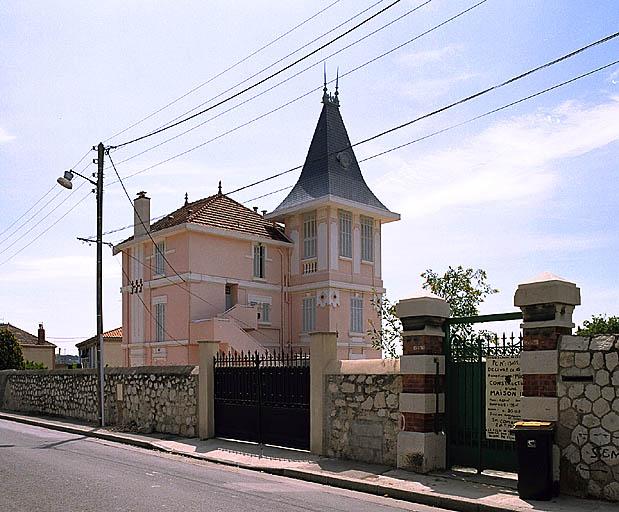 Maison de villégiature de négociant dite La Souvenance, du lotissement Martin-Zédé