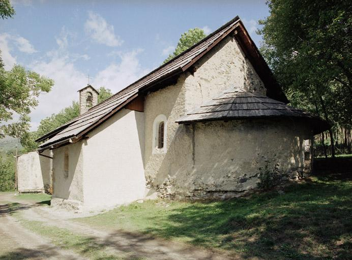 église paroissiale Saint-Chaffrey, actuellement chapelle Saint-Arnoul
