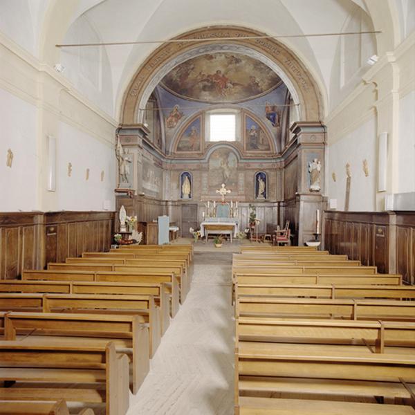 Chapelle de pénitents blancs, église paroissiale Saint-Sébastien