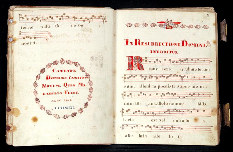 Livre : recueil de chant (N° 3)