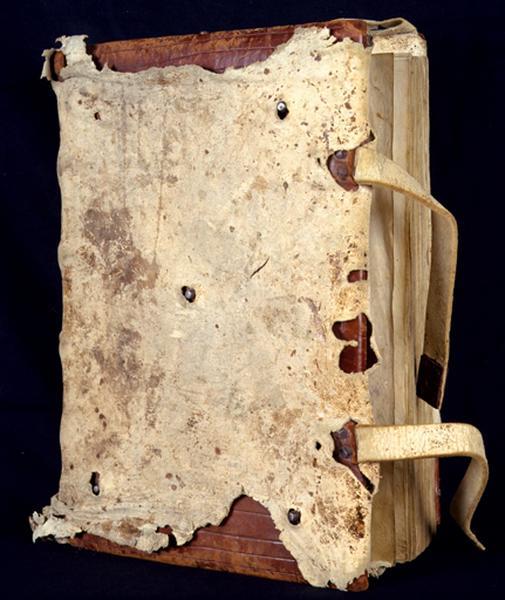 Livre liturgique manuscrit (antiphonaire) dit livre liturgique d'Heures des frères Fine