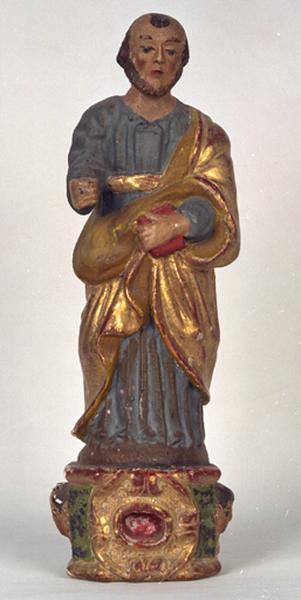 Statuette-reliquaire : Saint Joseph