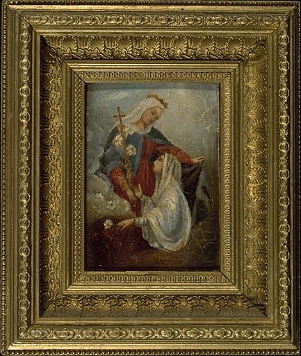 tableau, ex-voto : Prière à la Vierge