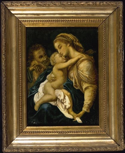 Tableau, ex-voto : Vierge à l'Enfant (n° 5)