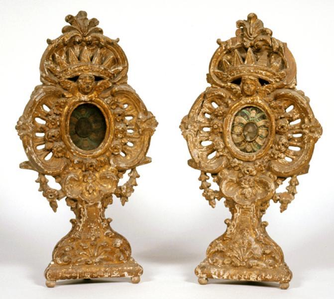 2 reliquaires (paire)