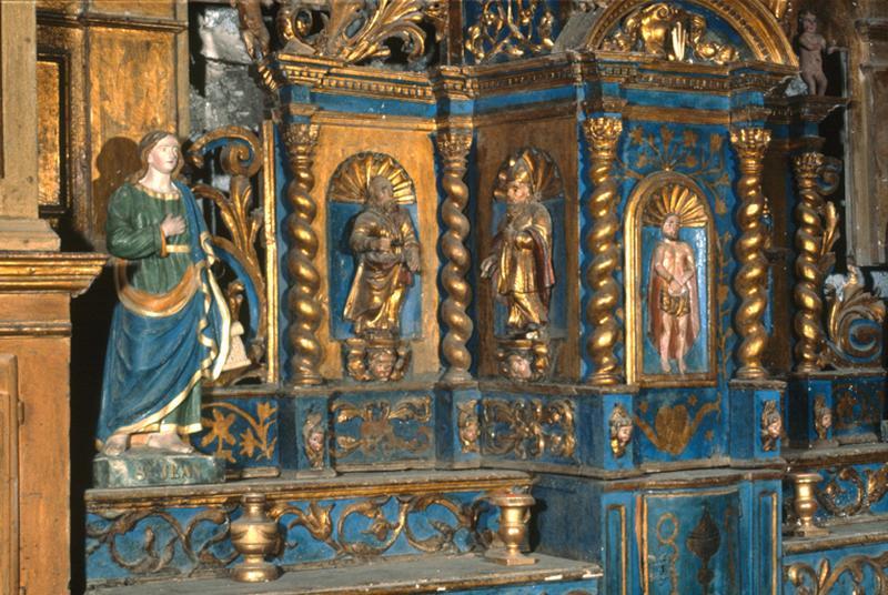 Tabernacle (tabernacle à ailes, tabernacle architecturé)