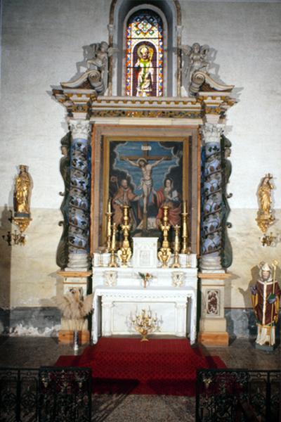 Retable (retable architecturé) (3), retable de l'autel de saint Blaise