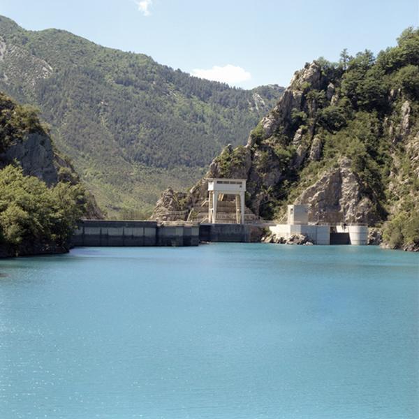 Centrale hydroélectrique du barrage de Chaudanne