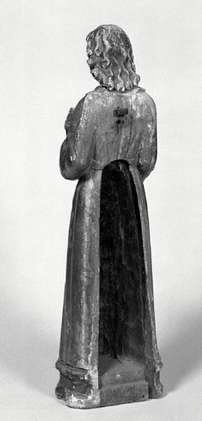 statue (petite nature) : Saint Paul de Tarse (?)