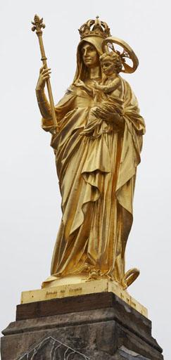 Statue : Vierge à l'Enfant en majesté