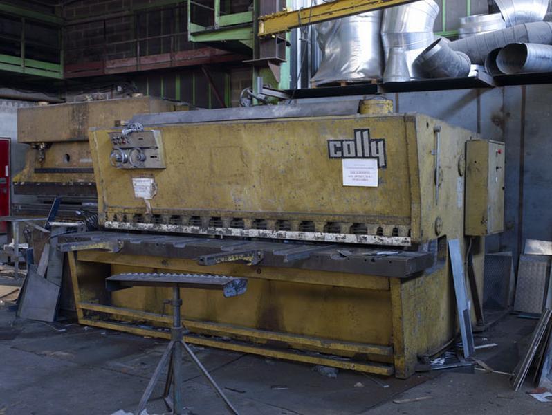 machine à découper (presse à découper Colly)
