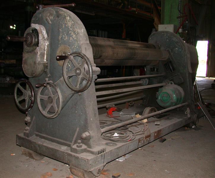 Ensemble de deux machines à rectifier (galbeuses)