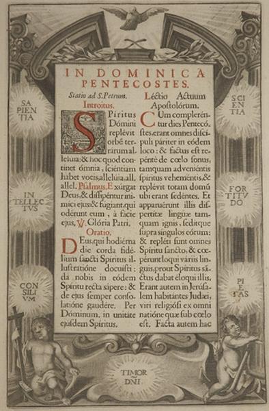 Livre liturgique : Missel Romain (N° 2)
