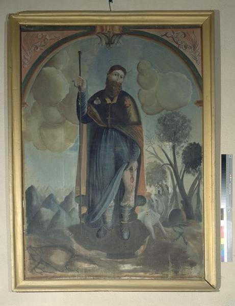 Tableau : Saint Roch