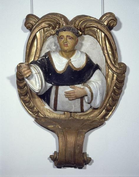 Haut-relief : Saint Dominique
