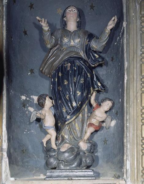 statue (petite nature) : Assomption