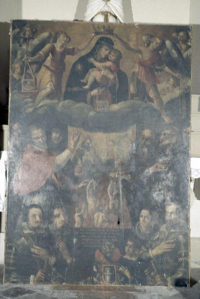 tableau : Notre-Dame du Mont Carmel