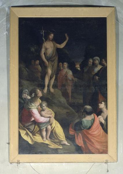 tableau : Prédication de saint Jean Baptiste