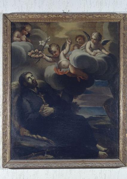 tableau : Mort de saint François Xavier