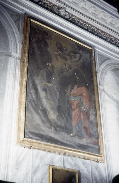 tableau d'autel : Saint Pierre et saint Paul