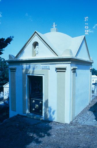 chapelle funéraire des familles Lorenzi et Giampietri
