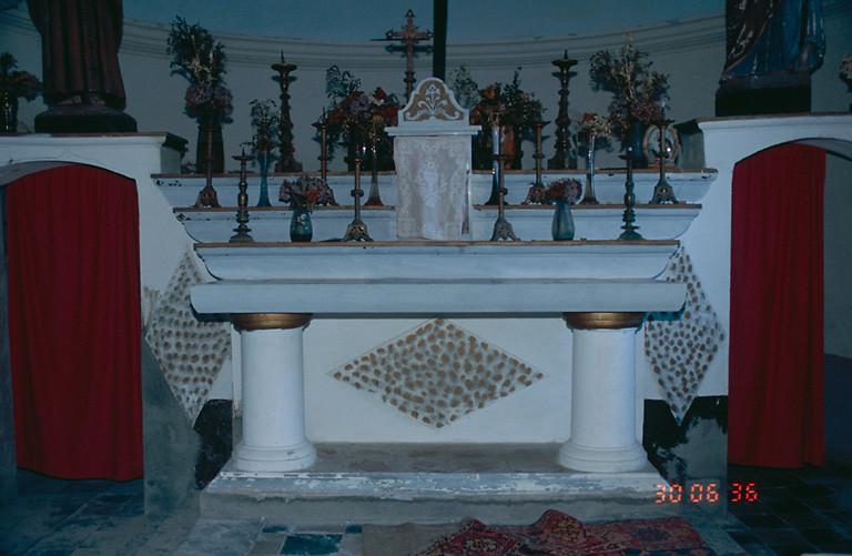 Le mobilier de la chapelle Saint-Antoine de Padoue