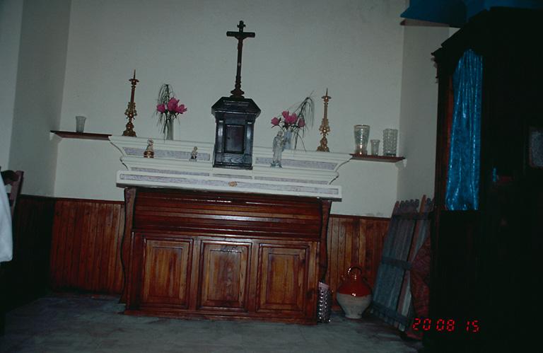 Le mobilier de la chapelle de l'Annonciation
