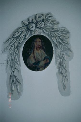 Tableau : Vierge en prière