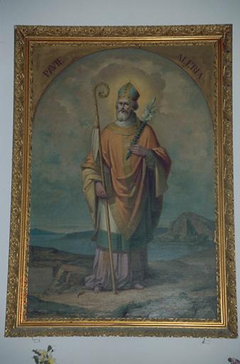 Tableau d'autel : Saint Alexandre Sauli