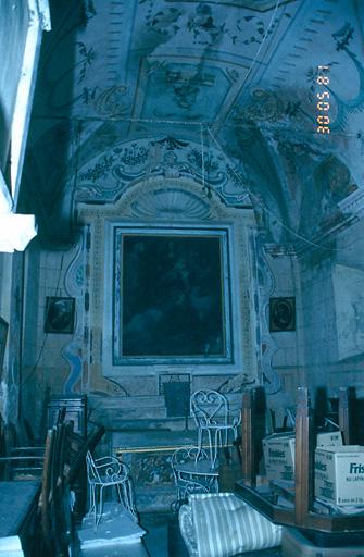 Ensemble du maître-autel de sainte Anne