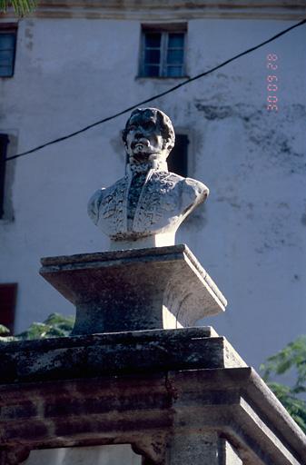 Buste de Denis Gavini, Préfet du Second Empire