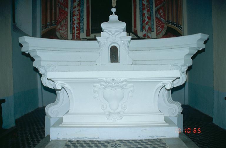 Le mobilier de l'église paroissiale Sainte-Cécile