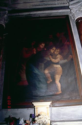 Tableau d'autel : Notre-Dame des Grâces