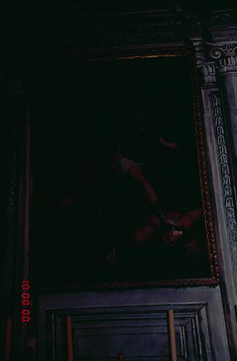Tableau d'autel : Saint Michel terrassant le démon