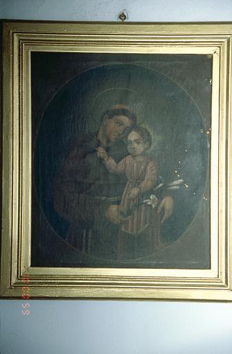 Tableau : Saint Antoine de Padoue et l'Enfant Jésus