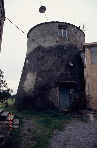 ancien poste d'observation dit tour génoise de Prunete, actuellement maison