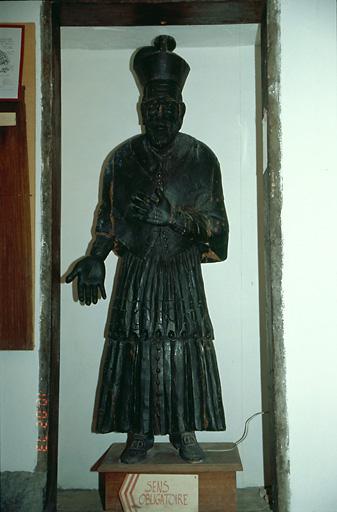 Statue (grandeur nature) : Saint Alexandre Sauli