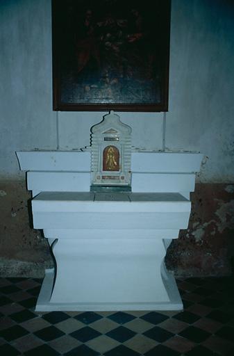 Le mobilier de l'église paroissiale Saint-Roch