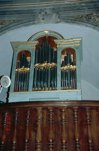 Orgue ; buffet d'orgue