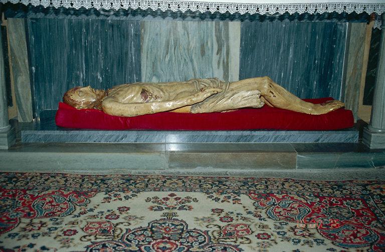 Statue (grandeur nature) : Christ mort