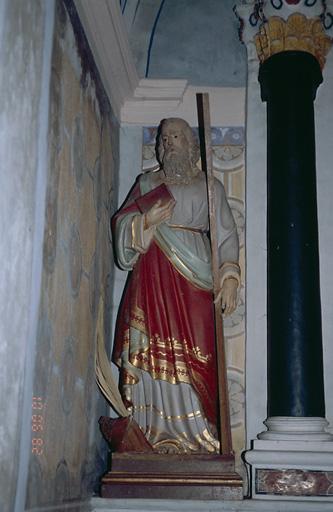 Statue (petite nature) : Saint André