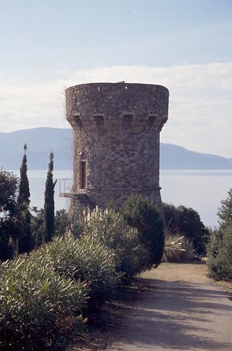 poste d'observation, tour génoise de Calanca