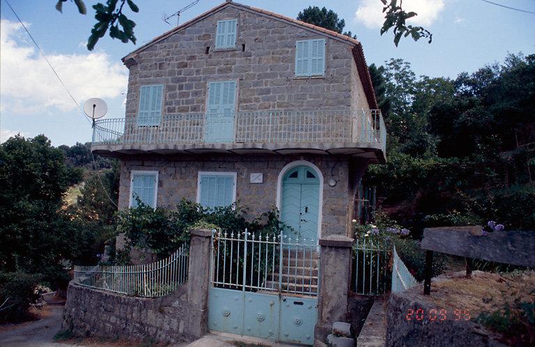 maison de notable, casa Charmoutta
